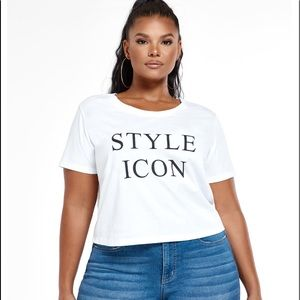 Fashion to figure style icon t shirt size 2